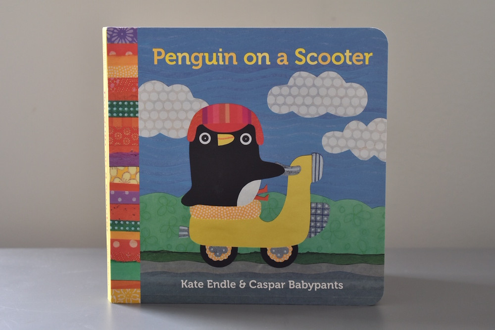 Penguins on a Scooter by Kate Endle & Caspar Babypants