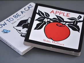 New to Board Book Format: Apple & How To Be A Cat by Nikki McClure