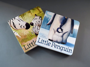 Coming Soon! Little Penguin & Little Zebra by Julie Abery and illustrated by Suzie Mason