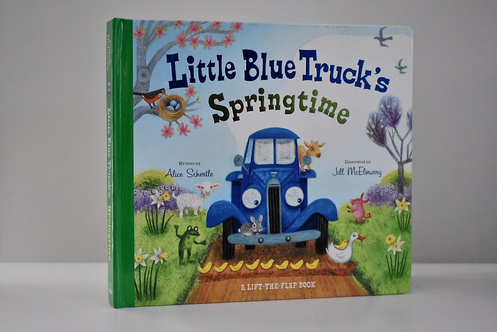 Little Blue Truck's Springtime by Alice Schertle with illustrations by Jill McElmurry
