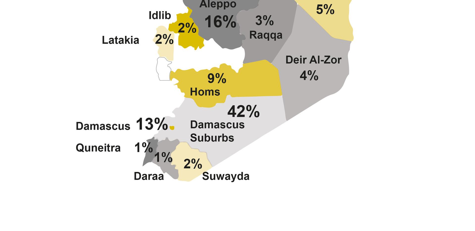 Survey Participators in Syria