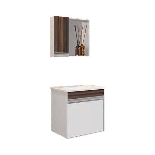 Mueble Para Baño Con Bacha Y Espejo Alta Calidad Sevilla 4