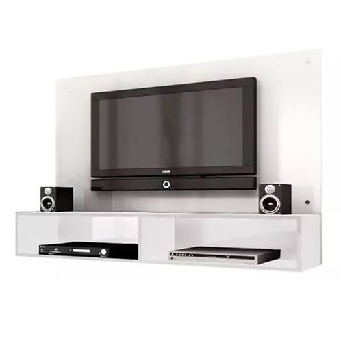 Panel Modular Home Rack Blanco Tv Led Estantes