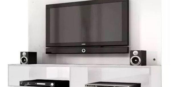 Panel Modular Home Rack Blanco Tv Led Estantes