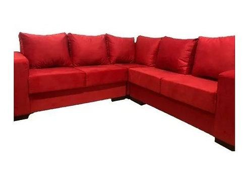 Sillon Sofa Living esquinero canto Sensacion con detalles
