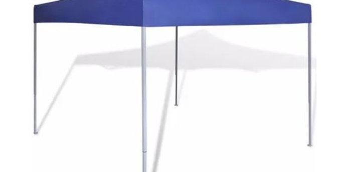 Gazebo Gazebos Jardín Exterior Plegable Camping Azul Sensación