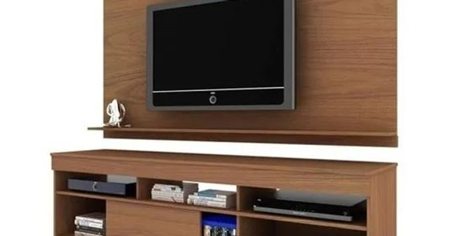 Modular Home Rack Tv Palermo + Panel Sensacion
