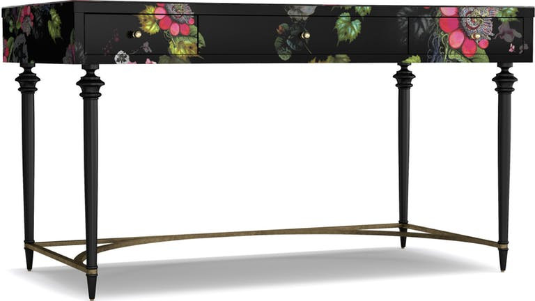 Cynthia Rowley Home Office Fleur de Lee Writing Desk