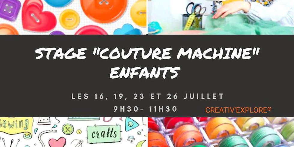 "Stage ""Couture machine"" enfants"