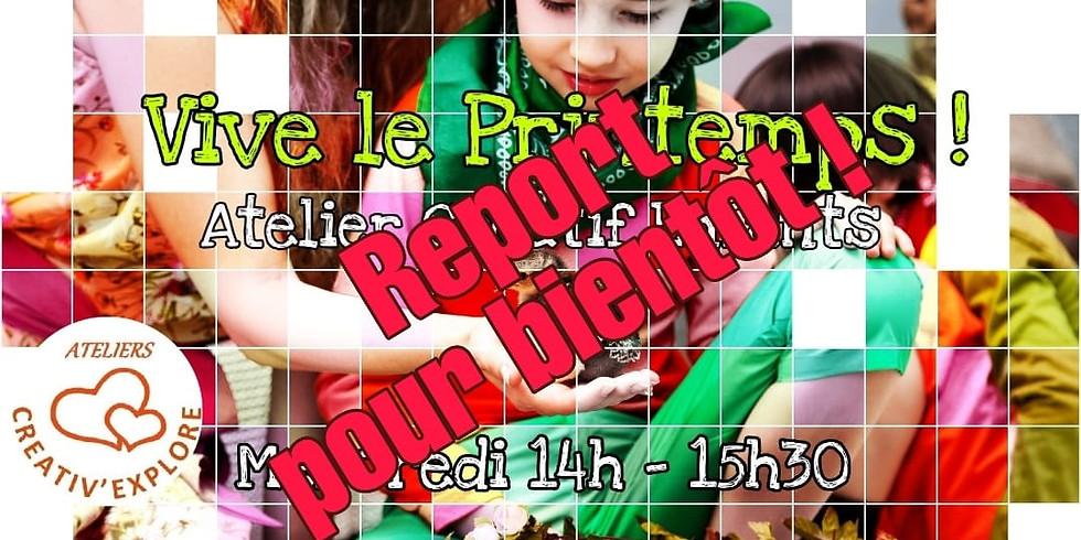 Vive le Printemps ! - Atelier créatif enfants