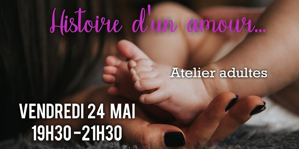 """Atelier Créatif """"Histoire d'un amour"""""""