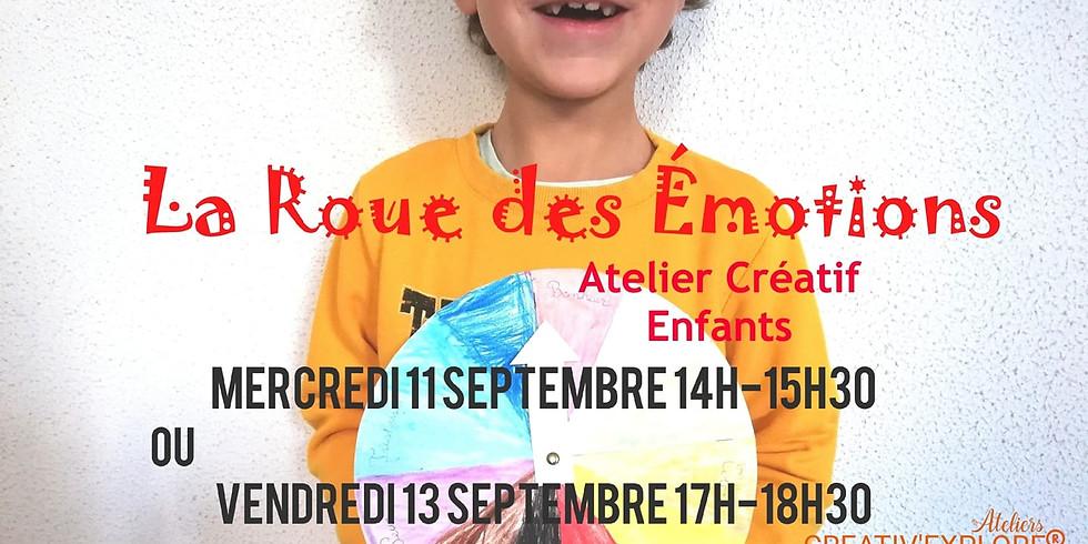 Roue des émotions - Atelier créatif enfants
