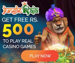 Register On Jungle Raja & Get 500 Free Signup Bonus