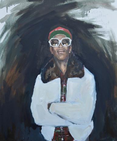 "oil on canvas 20"" x 24"""