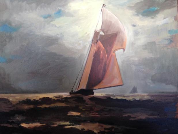 "oil on canvas 30"" x 36"""