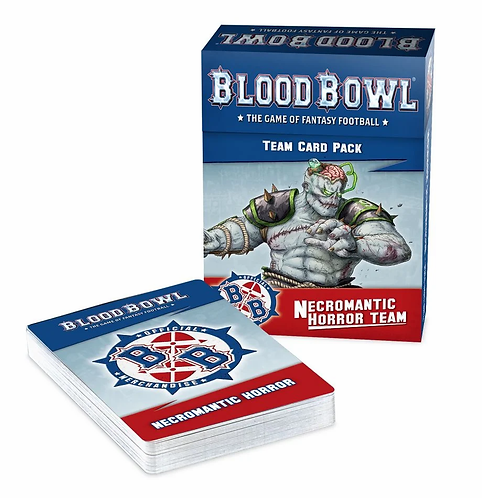 Blood Bowl Necromantic Horror Team Card Pack (PREORDER)