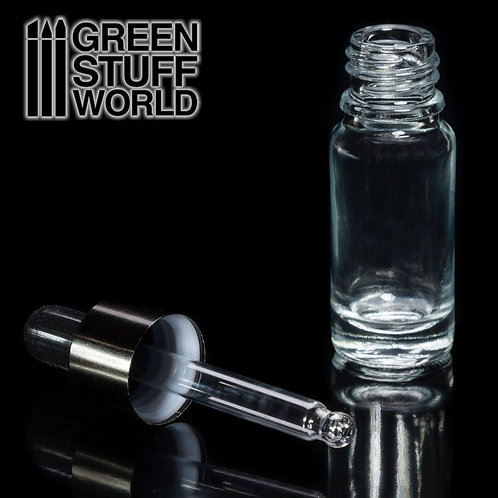 Green Stuff World: Empty Glass Jar with Pipette