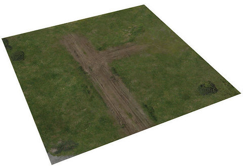 The Walking Dead All Out War: Deluxe Gaming Mat The Farm