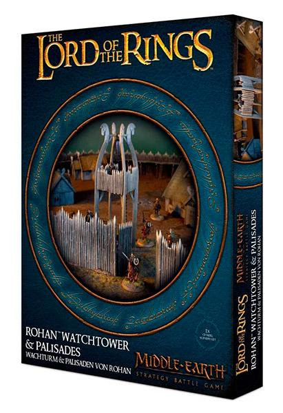 Middle-Earth: Rohan Watchtower & Palisades