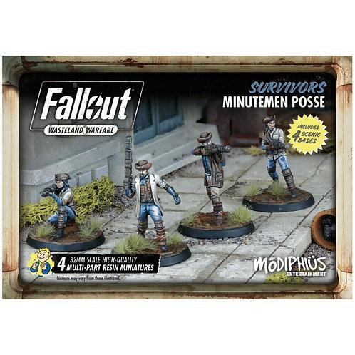 Fallout Wasteland Warfare: Survivors Minutemen Posse