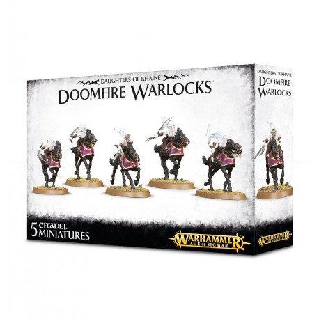 Daughters of Khaine: Doomfire Warlocks