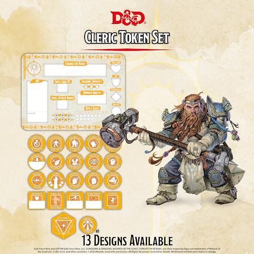 D&D 5.0: Cleric Token Set