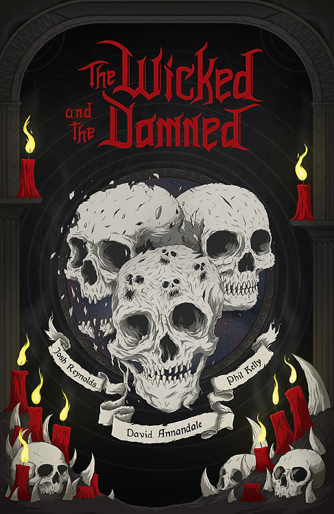 Black Library: The Wicked and the Damned