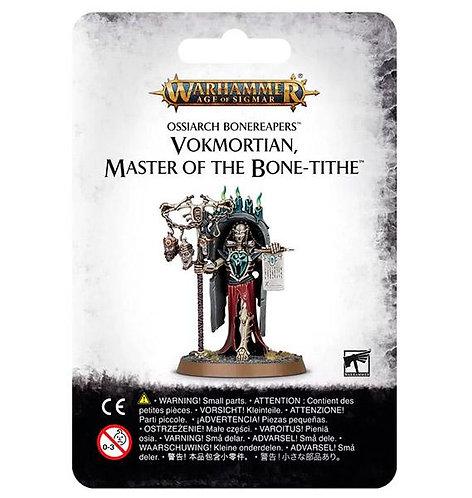 Ossiarch Bonereapers: Vokmortian, Master of the Bone-Tithe