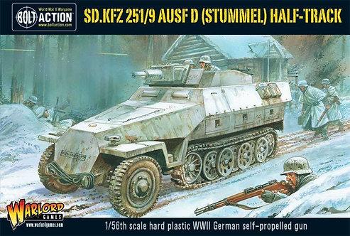 Bolt Action: SD.KFZ 251/9 Ausf D Stummel