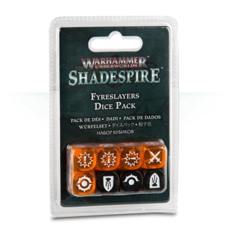 Shadespire: Fyreslayers Dice Pack