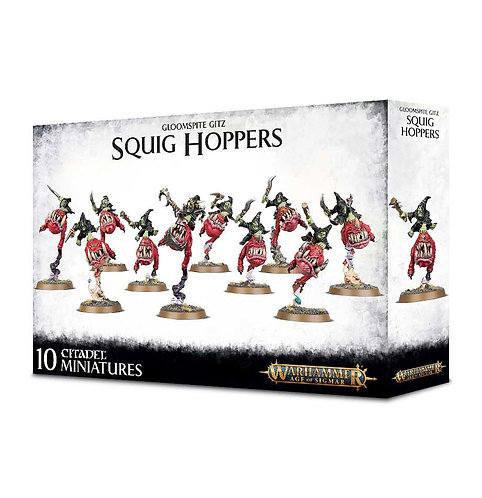 Gloomspite Gitz: Squig Hoppers