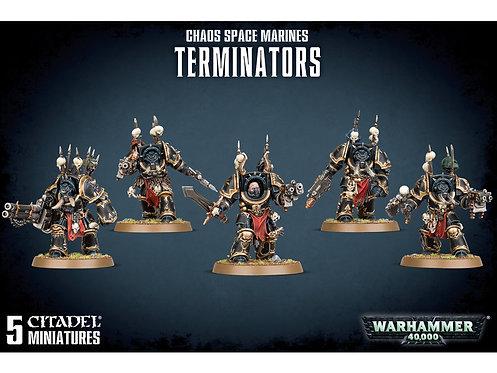 Chaos Space Marines: Terminators