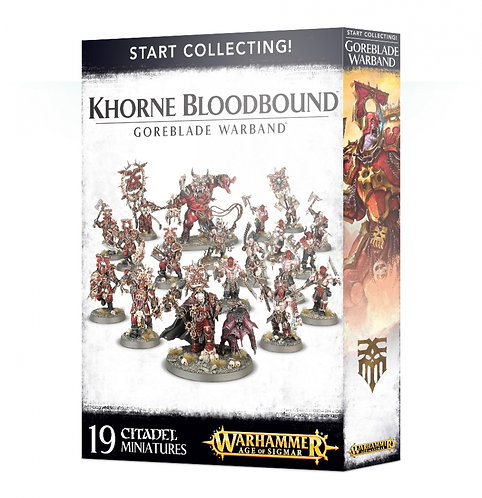 Start Collecting! Khorne Bloodbound - Goreblade Warband