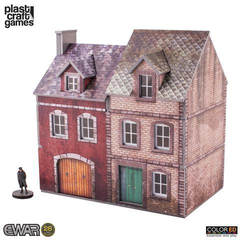 Plast Craft Games: Semi-Detached Building