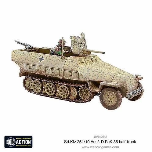 Bolt Action: SD.KFZ 251/10 Ausf. D (Pak 36) Half-Track
