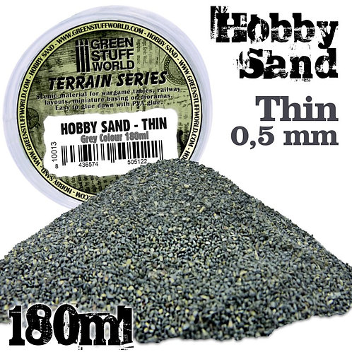 Green Stuff World: Hobby Sand Thin (Grey Colour 180ml)