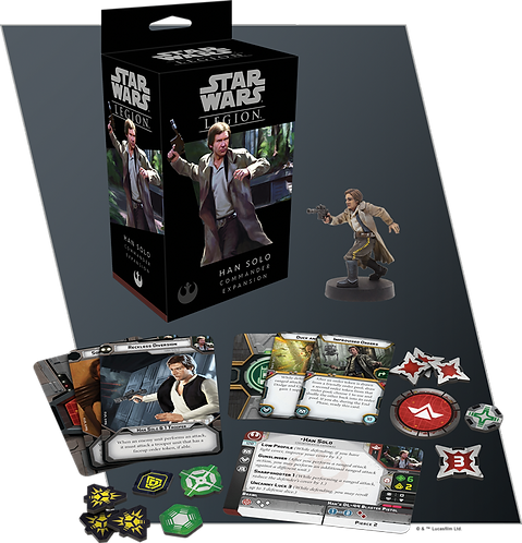 Star Wars Legion: Han Solo Commander