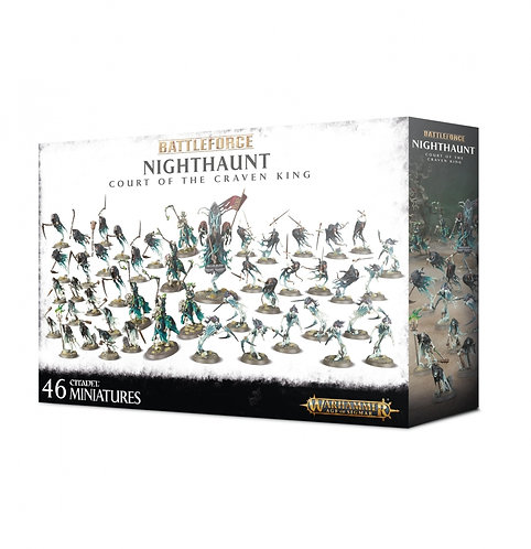 Nighthaunt: Battleforce Court of the Craven King
