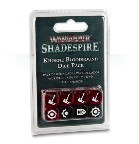 Shadespire: Khorne Bloodbound Dice Pack