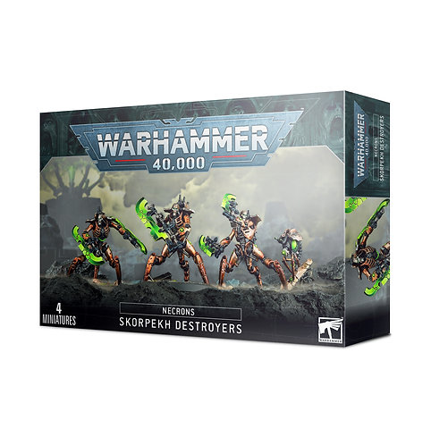 Necrons: Skorpekh Destroyers