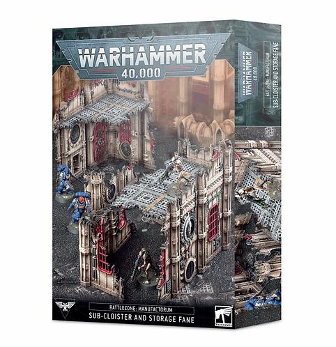 Warhammer 40k: Sub Cloister and Storage Fane