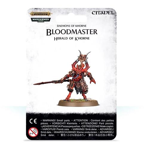 Daemons of Khorne: Bloodmaster, Herald of Khorne