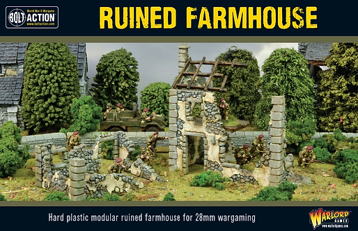 Bolt Action: Ruined Farmhouse