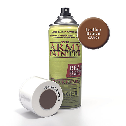 Army Painter: Leather Brown Primer