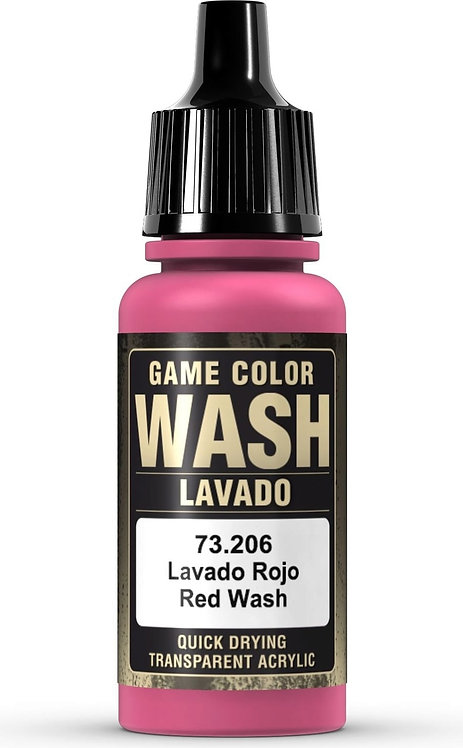 Vallejo Game Color: Red Wash