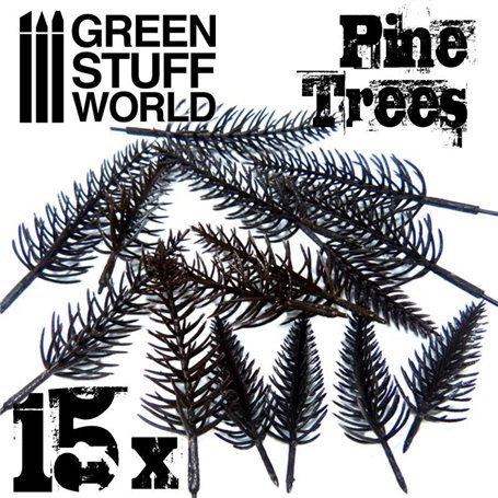 Green Stuff World: Pine Tree Trunks x 15