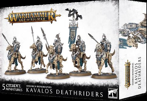 Ossiarch Bonereapers: Kavalos Deathriders