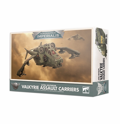 Aeronautica Imperialis: Imperial Navy Valkyrie Assault Carriers