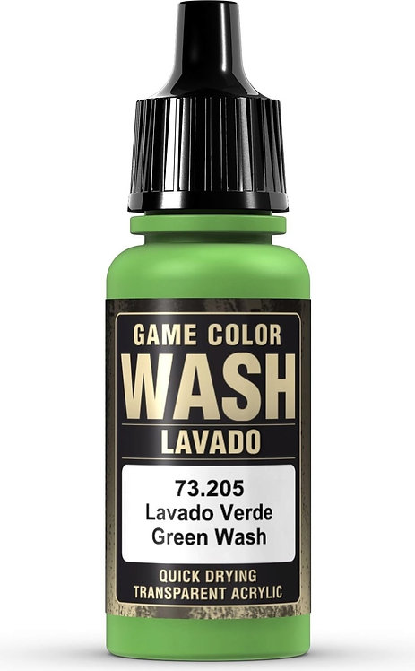Vallejo Game Color: Green Wash