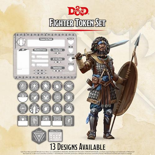 D&D 5.0: Fighter Token Set